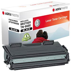 Toner for Brother HL-1240 HC, black AGFAPHOTO APTBTN6600E