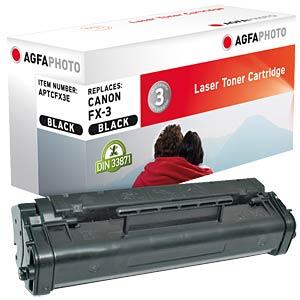 Toner - Canon - schwarz - FX-3 - rebuilt AGFAPHOTO APTCFX3E