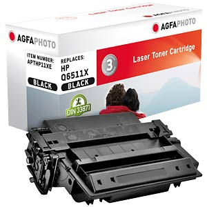 Toner for HP LaserJet 2420, black AGFAPHOTO APTHP11XE