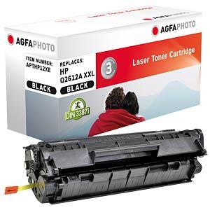Toner - HP - schwarz - Q261X - rebuilt AGFAPHOTO APTHP12XE