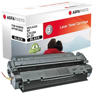 Toner for HP LaserJet 1200, black AGFAPHOTO APTHP15AE