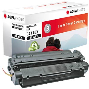 Toner for HP LaserJet 1200, black AGFAPHOTO APTHP15XE