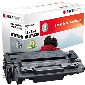 Toner for HP LaserJet P3015, black AGFAPHOTO APTHP255AE