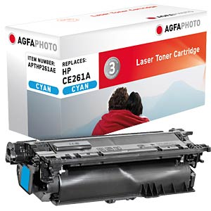 Toner for HP Color CP4025, cyan AGFAPHOTO APTHP261AE