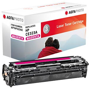 Toner for HP LaserJet PRO CP1525N, magenta AGFAPHOTO APTHP323AE