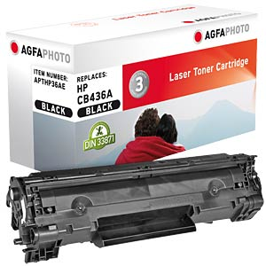 Toner for HP P1505, black AGFAPHOTO APTHP36AE