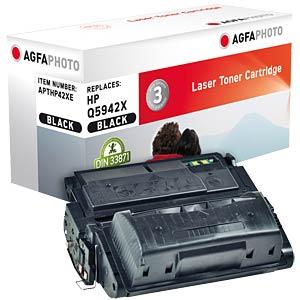 Toner - HP - schwarz - Q5942 - rebuilt AGFAPHOTO APTHP42XE