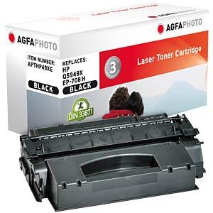 Toner - HP - schwarz - Q5949X - rebuilt AGFAPHOTO APTHP49XE