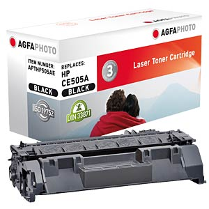 Toner for HP LaserJet P2035, black AGFAPHOTO APTHP505AE