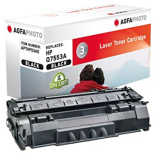 Toner for HP LaserJet P2015, black AGFAPHOTO APTHP53AE