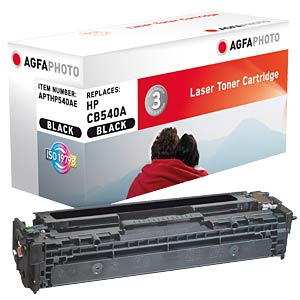 Toner for HP Color LaserJet CP1215, black AGFAPHOTO APTHP540AE