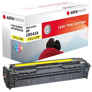 Toner for HP Color LaserJet CP1215, yellow AGFAPHOTO APTHP542AE