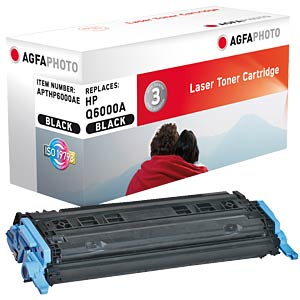 Toner for HP Color LaserJet 2600, black AGFAPHOTO APTHP6000AE