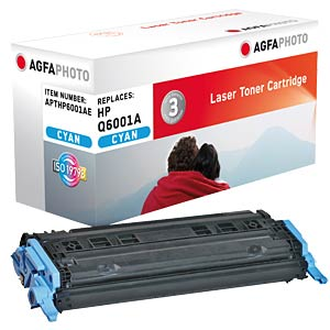 Toner for HP Color Laserjet 2600, cyan AGFAPHOTO APTHP6001AE