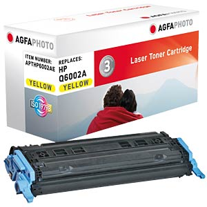 Toner for HP Color Laserjet 2600, yellow AGFAPHOTO APTHP6002AE
