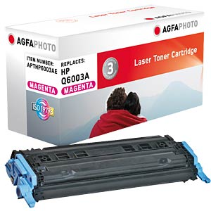 Toner for HP Color Laserjet 2600, magenta AGFAPHOTO APTHP6003AE