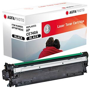 Toner for HP Color CP5225, black AGFAPHOTO APTHP740AE