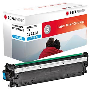 Toner for HP Color CP5225, cyan AGFAPHOTO APTHP741AE