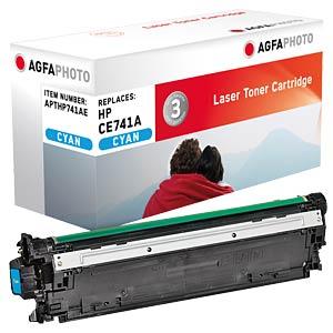 Toner - HP - cyan - CE741A - rebuilt AGFAPHOTO APTHP741AE