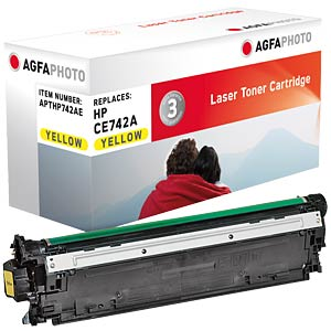 Toner for HP Color CP5225, yellow AGFAPHOTO APTHP742AE