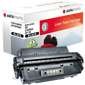 Toner for HP LaserJet 2100, black AGFAPHOTO APTHP96AE