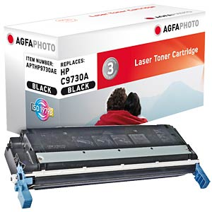 Toner for HP Color LaserJet 5500, black AGFAPHOTO APTHP9730AE