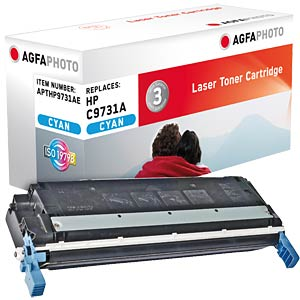 Toner for HP Color LaserJet 5500, cyan AGFAPHOTO APTHP9731AE