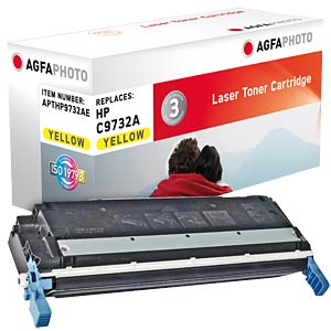 Toner for HP Color LaserJet 5500, yellow AGFAPHOTO APTHP9732AE