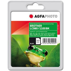 Black: Brother DCP 145C/165C/385C... AGFAPHOTO APB1100BD