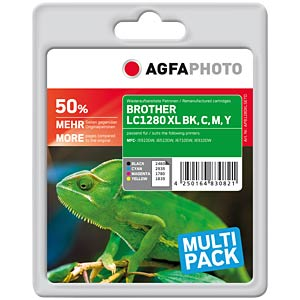 Multipack: Brother MFC-J825DW AGFAPHOTO APB1280XLSETD