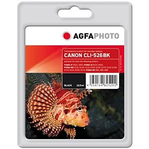 Tinte - Canon - schwarz - CLI-526 - refill AGFAPHOTO APCCLI526BD