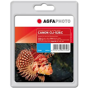 Cyan: Canon Pixma iP4850, MG5150 AGFAPHOTO APCCLI526CD