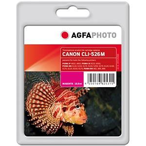 Tinte - Canon - magenta - CLI-526 - refill AGFAPHOTO APCCLI526MD
