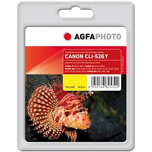 Tinte - Canon - gelb - CLI-526 - refill AGFAPHOTO APCCLI526YD