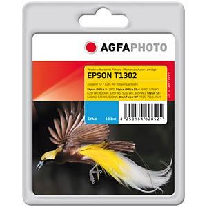 Tinte - Epson - cyan - T1302 - refill AGFAPHOTO APET130CD