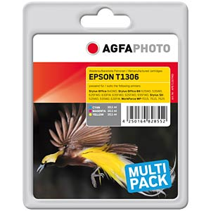 Tinte - Epson - Multipack - T1306 - refill AGFAPHOTO APET130TRID