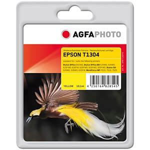 Tinte - Epson - gelb - T1304 - refill AGFAPHOTO APET130YD