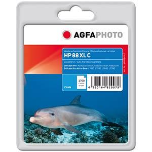 Tinte - HP - cyan - 88XL - refill AGFAPHOTO APHP88XLC