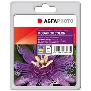 Tinte - Kodak - 3-farbig - 30 - refill AGFAPHOTO APK30C