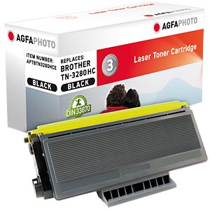 Toner for Brother HL-5340 HC +, black AGFAPHOTO APTBTN3280HCE