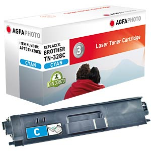 Toner for Brother HL-4570CDW, cyan AGFAPHOTO APTBTN328CE