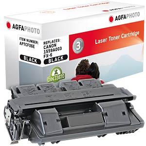 Toner - Canon - schwarz - FX6 - rebuilt AGFAPHOTO APTCFX6E