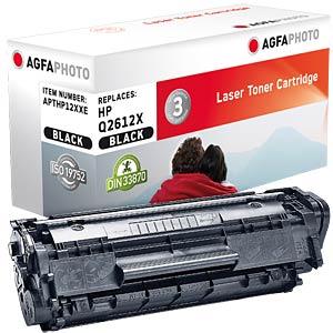 Toner for HP LaserJet 1010, black AGFAPHOTO APTHP12XXE