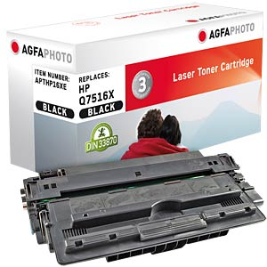 Toner for HP LaserJet 5200, black AGFAPHOTO APTHP16XE