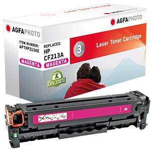 Toner - HP - magenta - CF213A - rebuilt AGFAPHOTO APTHP213AE