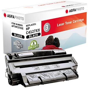 Toner for HP LaserJet 4000, black AGFAPHOTO APTHP27XXE