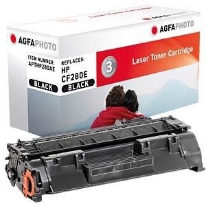 Toner - HP - schwarz - CF280A - rebuilt AGFAPHOTO APTHP280AE