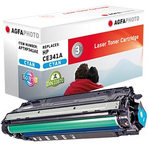 Toner for HP LaserJet Enterprise 700, cyan AGFAPHOTO APTHP341AE