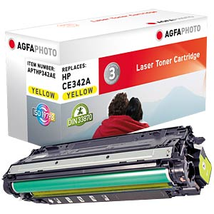 Toner for HP LaserJet Enterprise 700, yellow AGFAPHOTO APTHP342AE