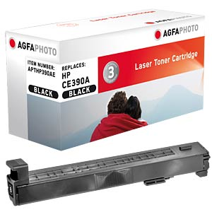 Toner for HP CLJ Enterprise M4555, black AGFAPHOTO APTHP390AE